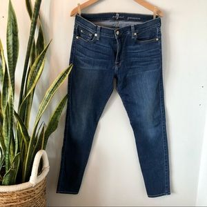 7 for All Mankind Gwenevere High Rise Skinny Jeans